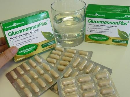 Glucomannan plus appetite suppressant