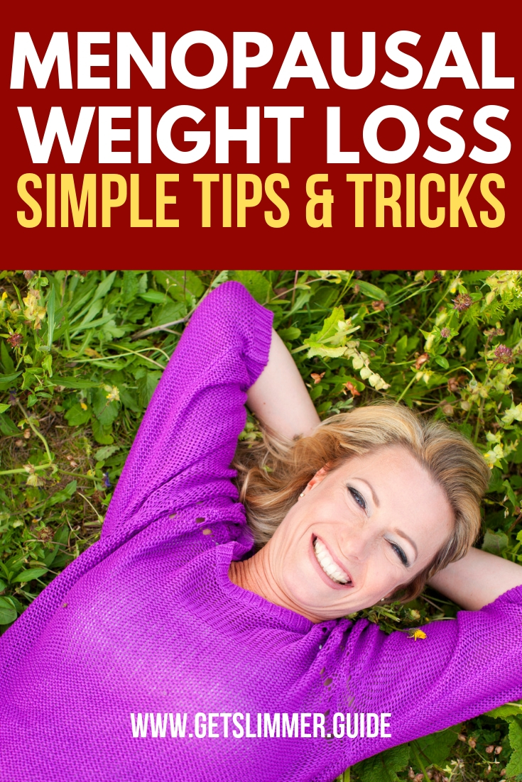 How to lose weight for menopause women