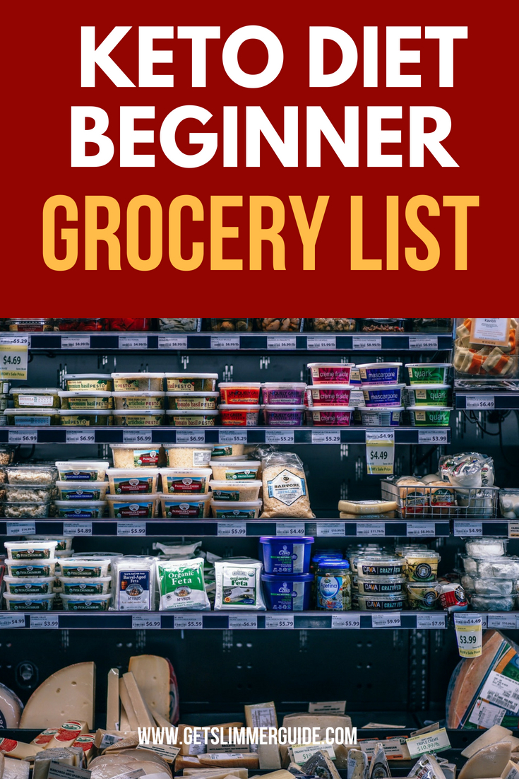 Keto Diet Grocery List for Beginners! #keto #ketodiet #ketogenicdiet #ketoshoppinglist #ketogrocerylist #ketoforbeginners