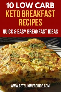 10 Easy keto diet breakfast recipes you can easily whip up in the morning. #ketorecipes #keto #ketodiet #ketogenicdiet #recipes #breakfastrecipes #healthyrecipes #easyrecipes #quickrecipes #ketobreakfastideas #muffins #pancakes #eggsandbacon